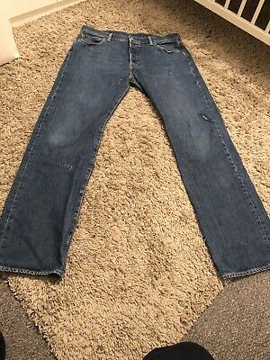 Mens levis Strauss and Co 501 Size 36 W 34 L