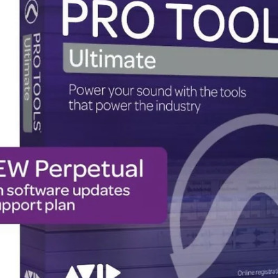 NEW Pro Tools ULTIMATE PROTOOLS PERPETUAL HD Software License Download $2499!!
