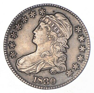 1830 Capped Bust Half Dollar *8179