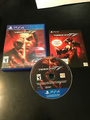 Tekken 7 (Sony PlayStation 4, 2017) PS4 Complete game VG