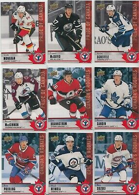 """2020 Upper Deck National Hockey Card Day (Canada) Complete """"17"""" CARD SET"""
