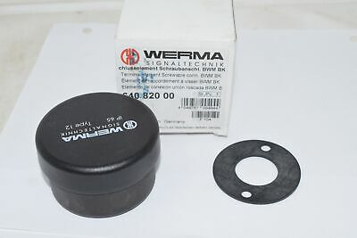 NEW WERMA 64082000 Light Tower;KombiSIGN 71;Terminal Element; Screw. Connector;B