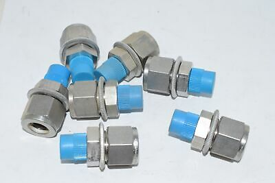 Lot of 7 NEW Swagelok 316 1/2'' Coupling Fitting Connector