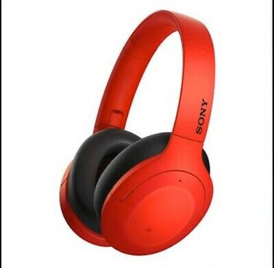 Sony WH-H910N h.ear on 3 Wireless Noise Cancelling Headphones (Red)