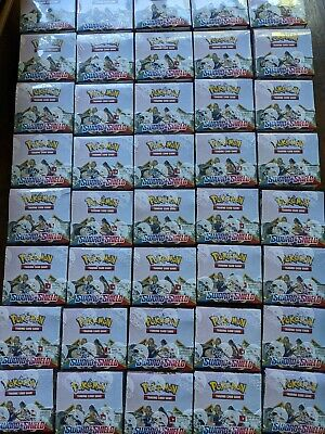 Sword And Shield base set Booster Box | Sealed Pokemon TCG Booster Box