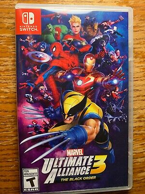 Marvel Ultimate Alliance 3: The Black Order (Nintendo Switch, 2019)