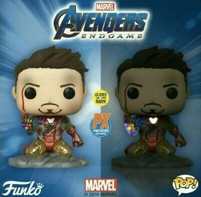 Avengers Endgame I am Iron Man Glow in the Dark Funko Exclusive PRE ORDER JUNE