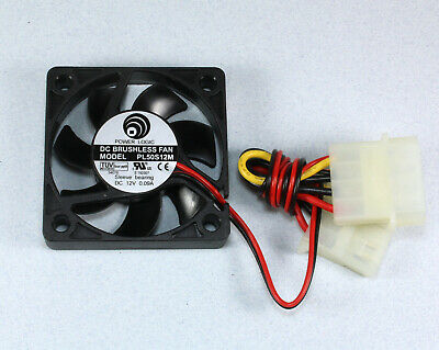 Power Logic Fan PL50S12M, 2 Wire with Molex Connection