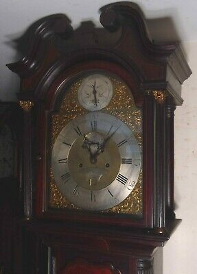 "Antique Mahogany 8 Day ""  London "" Longcase / Grandfather Clock"