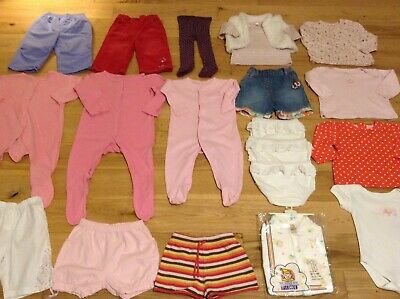 6-9 Months Baby Girl's Large Bundle Joblot of Mixed Clothes