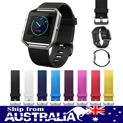 Replacement Silicone Watch Band Fitness Bracelet Wrist Strap For Fitbit Blaze se