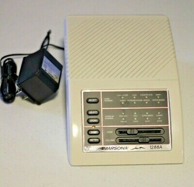 Marpac Marsona 1288A Electronic Programmable Sound Sleep Conditioner