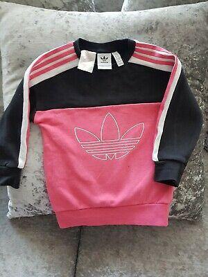 Girls adidas jumper 12-18 Months
