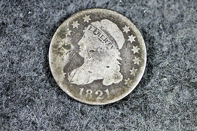 ESTATE FIND 1821 Capped Bust Dime  #D22588