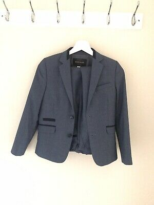 River Island Boys Blue Suit 10 Years