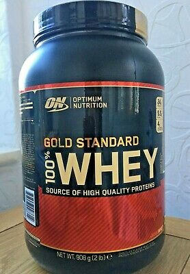 Optimum Nutrition Gold Standard Whey Muscle Building/Recovery Protein 908g