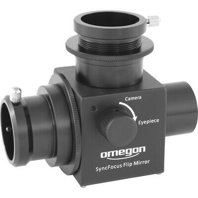 Omegon Syncfocus Flip-mirror (for Planetary Cameras)