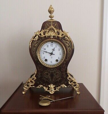 19th C. French Styled Antique Seth Thomas Clock 'LOUVRE'