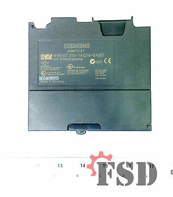 Siemens 6ES7314-1AG14-0AB0 Simatic S7-300 314 Processor with MPI Interface