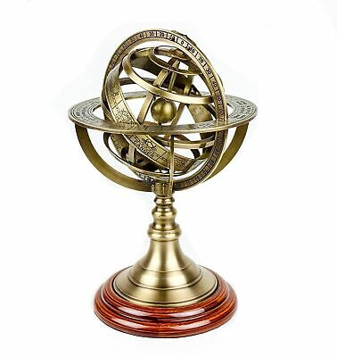 Antique Brass Armillary Sphere Astrolabe Nautical Marine Tabletop Armillary 8'''