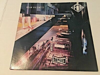 Vintage The Firm, Mean Business LP (Atlantic Records 1986 81628-1-E)