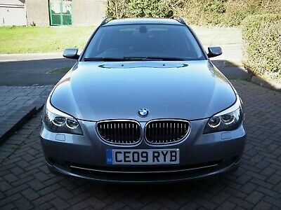 2009 BMW 525d Touring 197bhp , Manual Gearbox ,84000miles, FSH, 1 Previous Owner