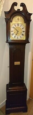 Oak Longcase Tall Clock manufactured in 1924 Westminster Chimes, Chime & Silent