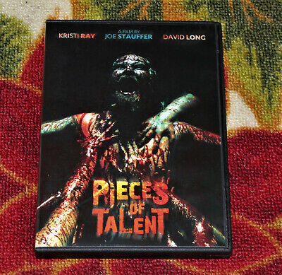 "Horror ""Pieces Of Talent"" Rare Oop Dvd"