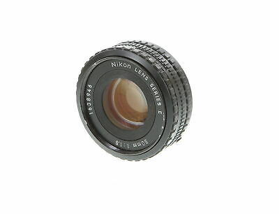 Nikon Nikkor 50mm F/1.8 Series E AIS Manual Focus Lens {52} - UG