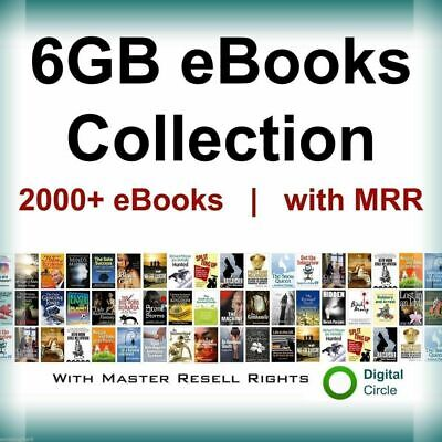 2000 E Books Package Collection (PDF format) Ebooks Master Resell rights Pdf MRR