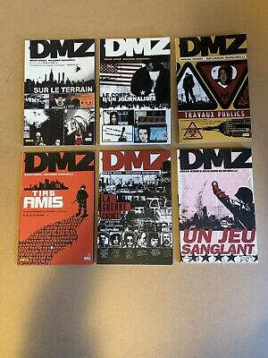 DMZ, tomes 1 - 6, Brian Wood/Burchielli,  VF Comics BD