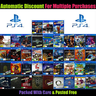 🎮 Ps4 ☞ Your Choice Of Awesome Games! ☜ Most Brand New 25/03/20