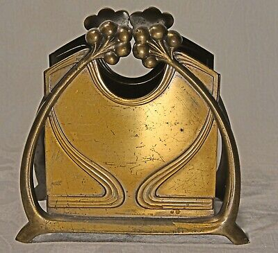 Original WMF Jugendstil Briefhalter, art nouveau