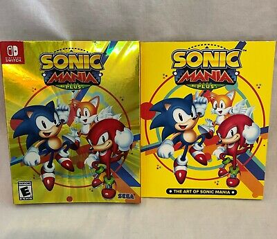 Sonic Mania Plus (Nintendo Switch) Launch Limited Edition -- NO GAME INCLUDED