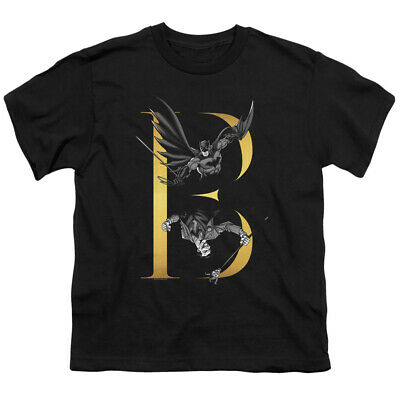 Batman Kids T-Shirt Batman Joker Feud Black Tee