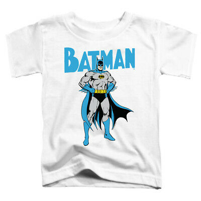 Batman Toddler T-Shirt Pose White Tee