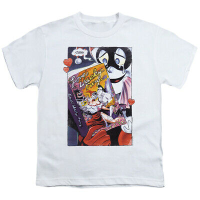 Batman Kids T-Shirt Love's Wacky Fury White Tee