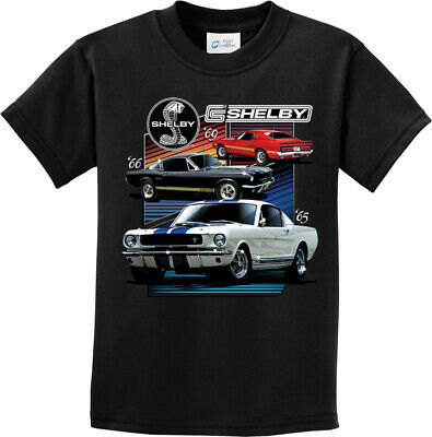 Kids Ford Mustang T-shirt Various Shelby Youth Tee