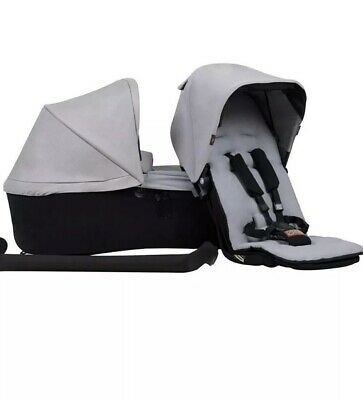 Mountain Buggy DUETFPS V3-6 silver Family Pack (Single) Brand New In Box
