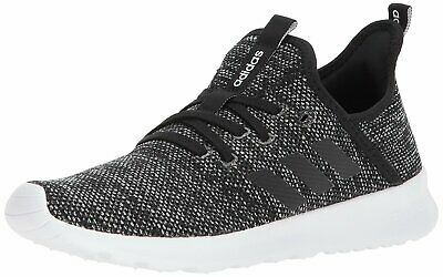 ADIDAS WOMENS CLOUDFOAM Pure Low Top Lace Up, WhiteWhite