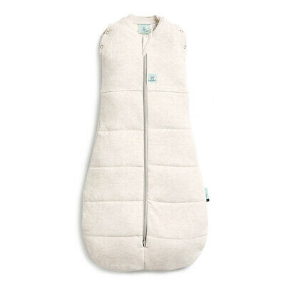 ErgoPouch Organic/Cotton 2.5 TOG Cocoon Swaddle Bag 3-12 M for Baby/Infant Marle
