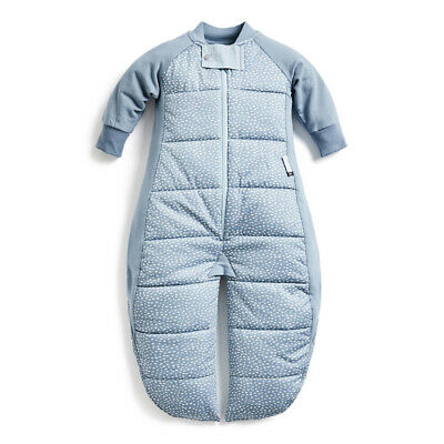 ErgoPouch Organic/Cotton 2.5 TOG Sleep Suit Bag 8-24M for Baby/Toddler Pebble
