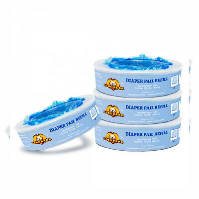 Signstek Nappy Disposal Refills for Angelcare Systems 4 Pack