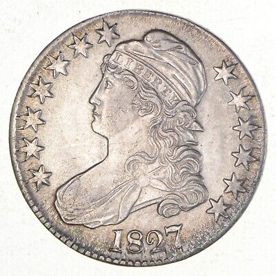 1827 Capped Bust Half Dollar *2547