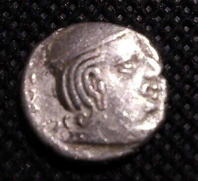 Ancient India - Kings Portrait - Rare Silver Coin