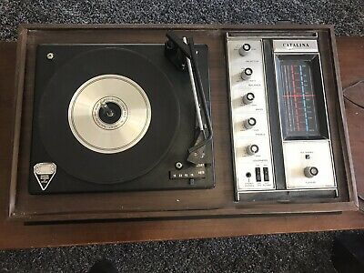 Vintage Catalina 8 Track Record Player