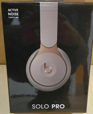 Beats by Dr. Dre Solo Pro Wireless Headphones Ivory **BRAND NEW SEALED**