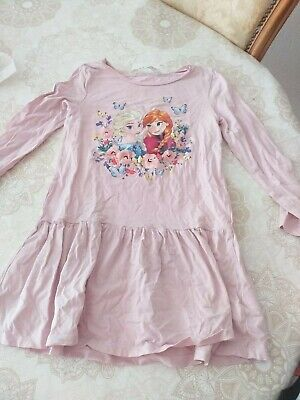 robe fille disney taille 7/8 ans