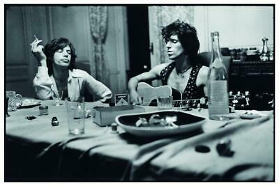 the Rolling Stones - POSTER - Mick Jagger Keith Richards - EXILE ON MAIN STREET