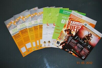 10x Unused 48 Hour Xbox Live Gold Trial Cards **FREE UK POSTAGE**
